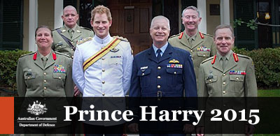 Prince Harry to embed with the Australian Army